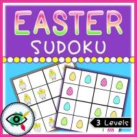Easter – Sudoku – Easter Symbols