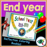 End of year reflection booklet – English