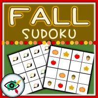 Fall Season – Sudoku – Fall symbols