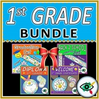 Back to School – End of Year – First Grade Bundle