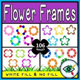 Flower Frames – Clipart