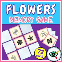 Spring – Memory Game – Flowers