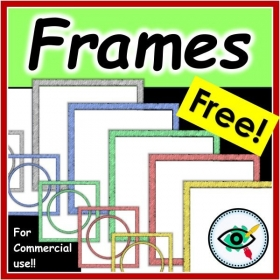Clipart – Square Frames