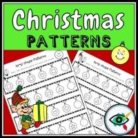 Christmas – Patterns – Lightbulb Shapes