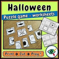Halloween – Puzzle – Holiday Symbols