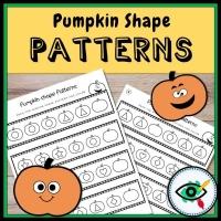 Halloween – Pattern – Pumpkin Shapes