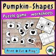 Pumpkin Shape Puzzle