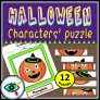 Halloween Characters Puzzle