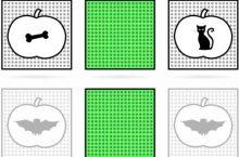 Halloween online Matching pairs Memory Games