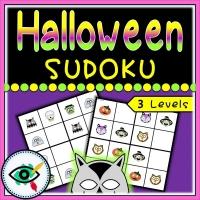 Halloween – Sudoku – Halloween Characters
