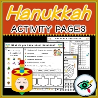 Hanukkah – Worksheet Collection