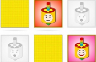 Hanukkah online Matching pairs Memory games