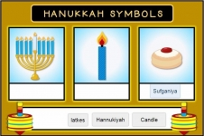 Hanukkah Word Matching