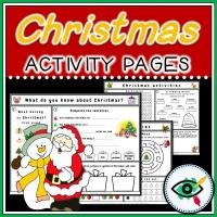Christmas – Worksheets – Enrichment activity
