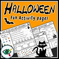 Halloween – Worksheets for Kids