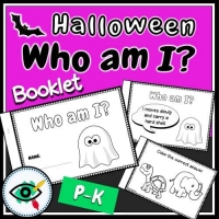Halloween – Booklet – Who Am I – Pre-K