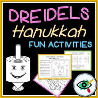 Hanukkah – Educational Activity Pack – Dreidels