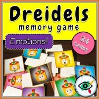 Hanukkah – Matching Game – Emotional Dreidels