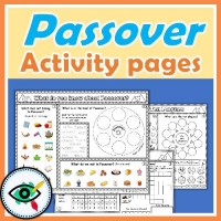 Passover – Worksheets – Enrichment Activity