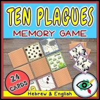 Passover – Matching Game – Ten Plagues