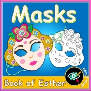 Purim Masks Crafting
