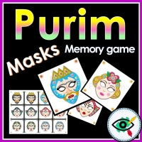 Purim – Matching Game – Book of Esther Characters