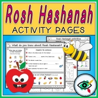 Rosh Hashanah – Worksheets – Enrichment