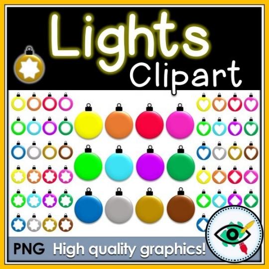lights-clipart-title