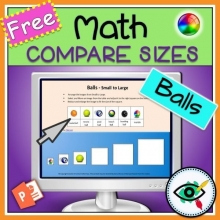 Math Compare Sizes Paperless – Free Sample