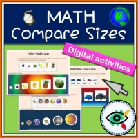 Math – Compare sizes in Powerpoint