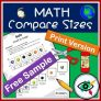 Math Compare Sizes Printable – Free Sample