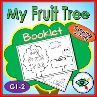 Coloring Pages – Booklet – My Fruit Tree