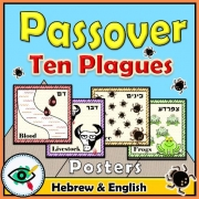 Passover Ten Plagues Posters