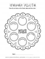 Passover worksheet – The Seder Plate