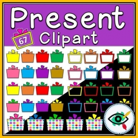 Gift Box Clipart – Collection