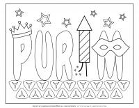 Purim title on Hamantaschen