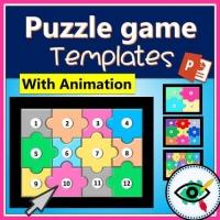 Puzzle – Templates – Board Puzzle Game