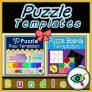 Puzzle Templates Bundle