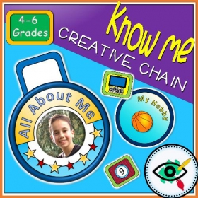 Back to School – Craft – Know Me Chain