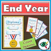 End of Year Diploma cover