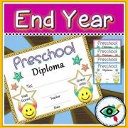 End of Year Preschool Diploma