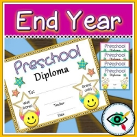 End of Year Preschool Diploma