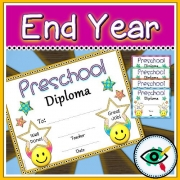 End of Year rounded Diploma for Pre-School