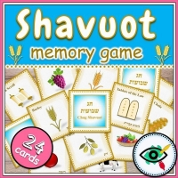 Shavuot – Matching Game – Shavuot Symbols