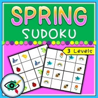 Spring – Sudoku – Spring symbols