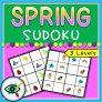 Spring Image Sudoku Puzzle Game