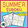 Summer Image Sudoku Puzzle Game