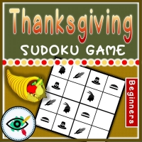 Thanksgiving – Sudoku Puzzle – Symbols
