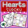 Valentines day – Sudoku – Hearts