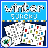 Winter season – Sudoku – Winter symbols